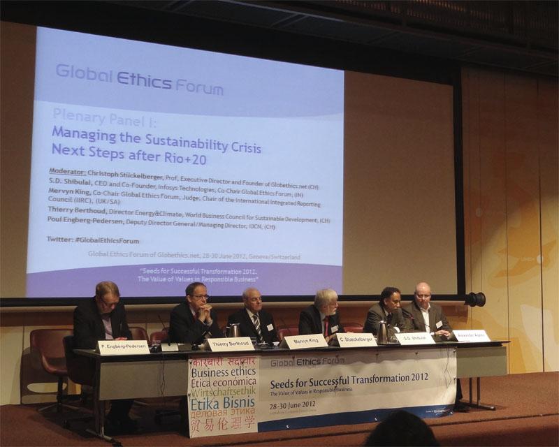 Глобальный этический форум, Женева