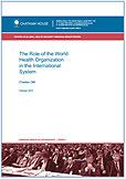 Chatham House: Роль Всемирной организации здравоохранения и ее место в международной системе