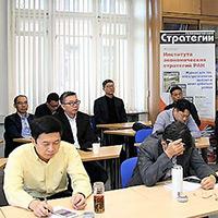 Российско-китайские семинары в ИНЭС